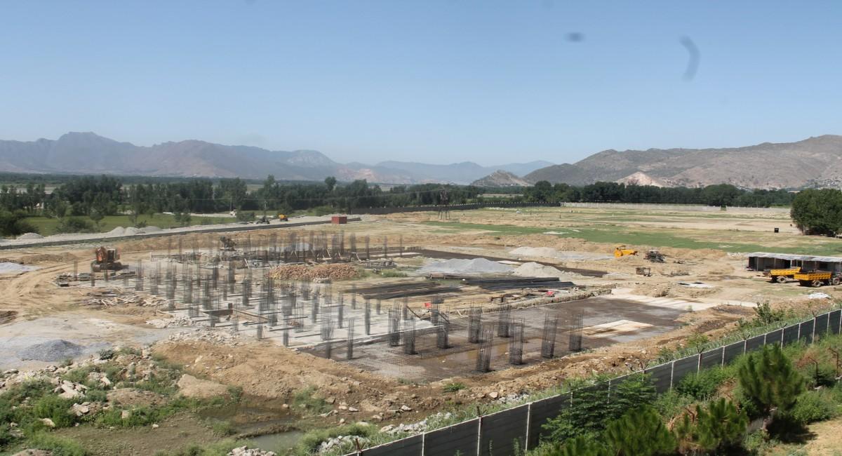New Hostel (under construction)